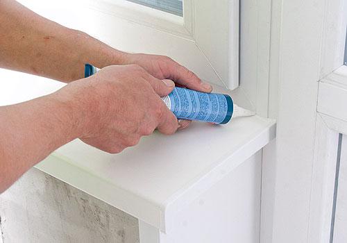 Чем заделать швы на пластиковом окне